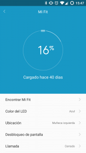 Xiaomi MiBand Screenshot 3