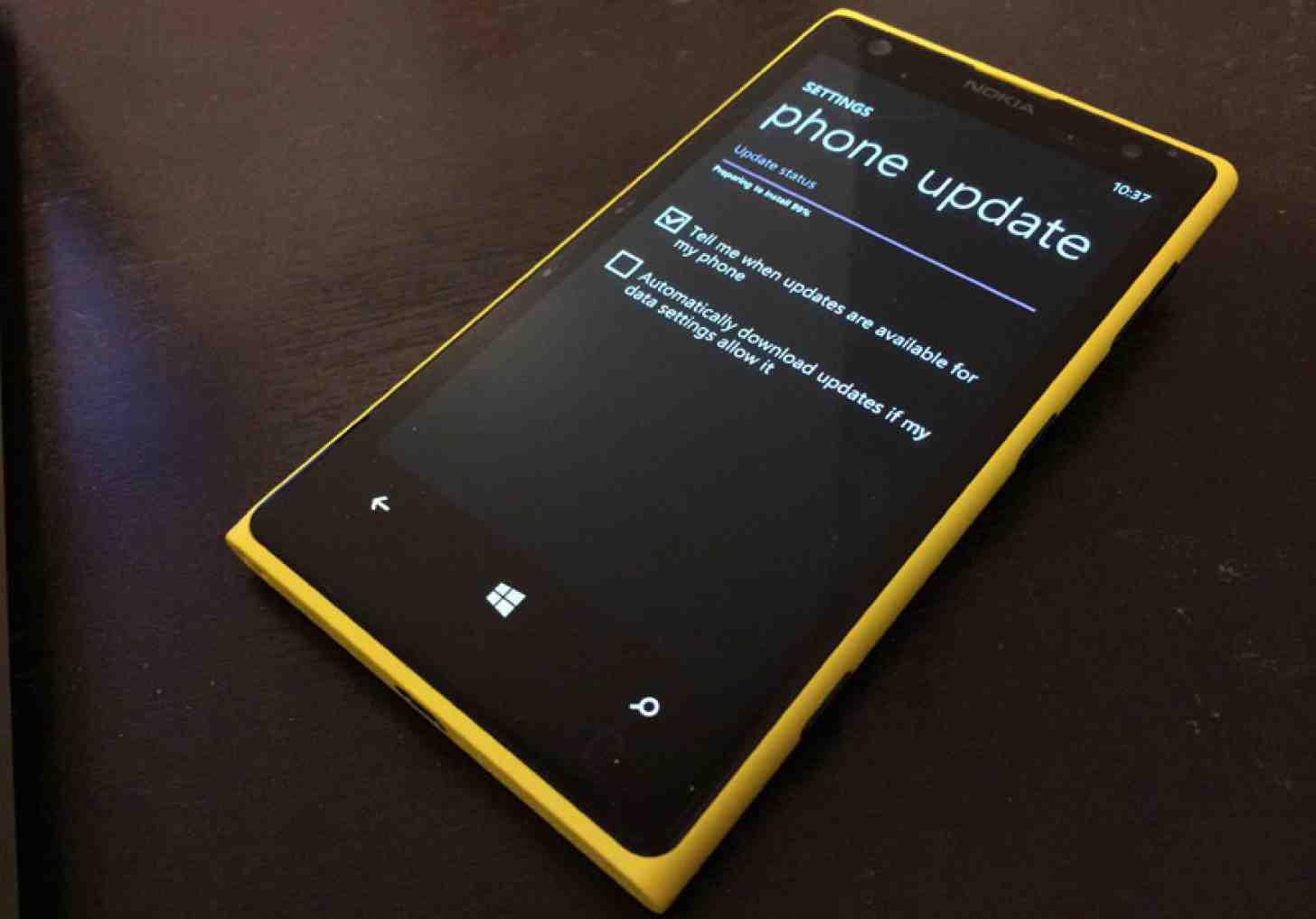 Lumia Denim Update