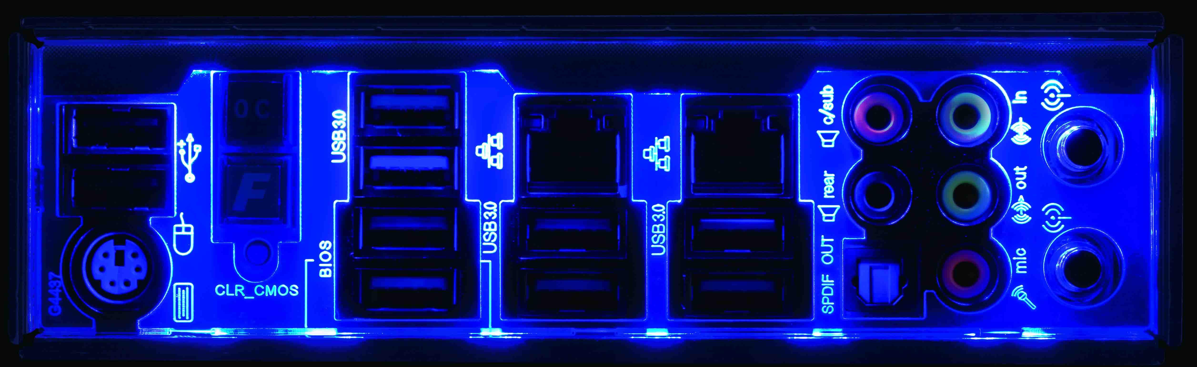GIGABYTE X99-UD7 LED