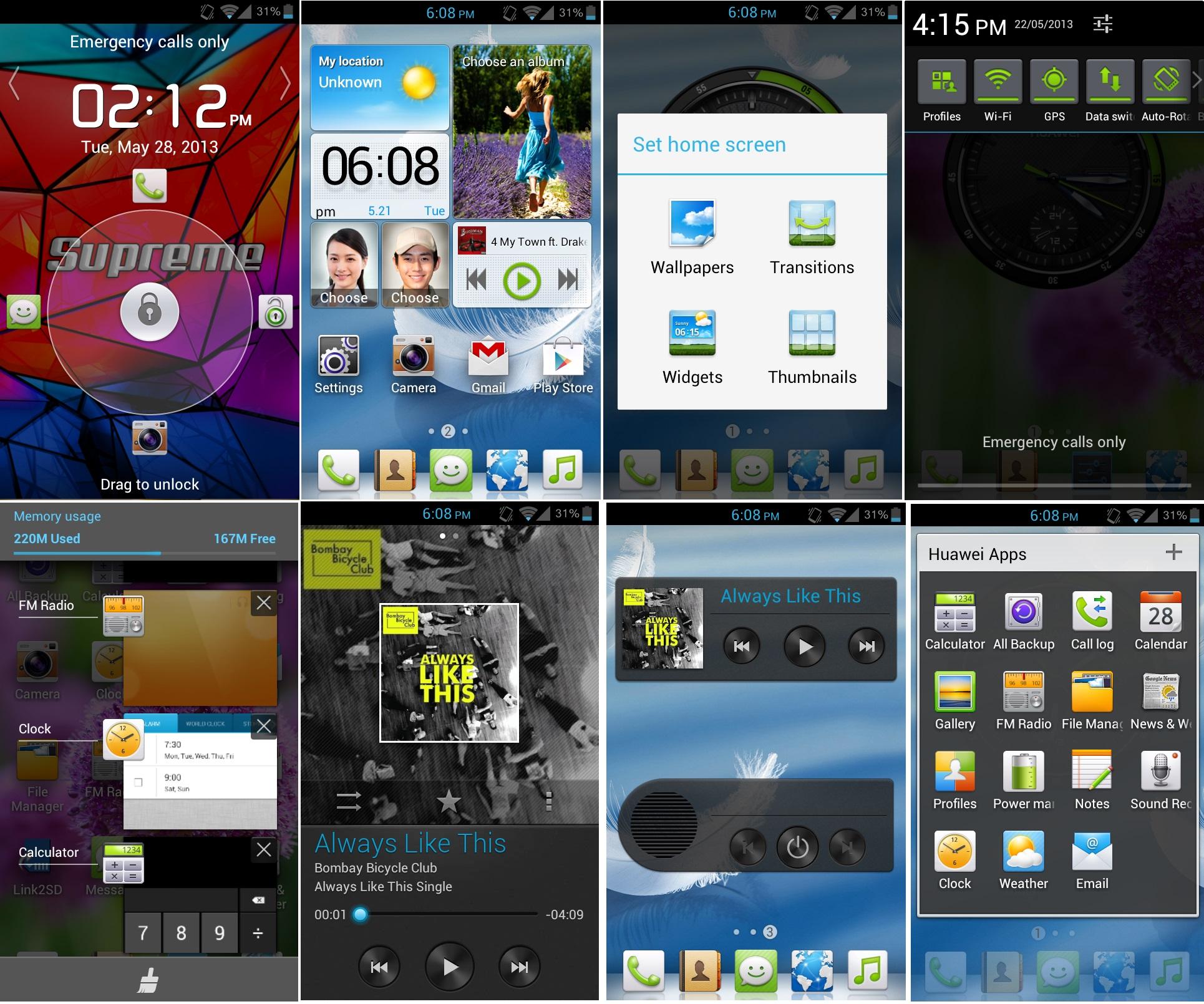 Huawei UI