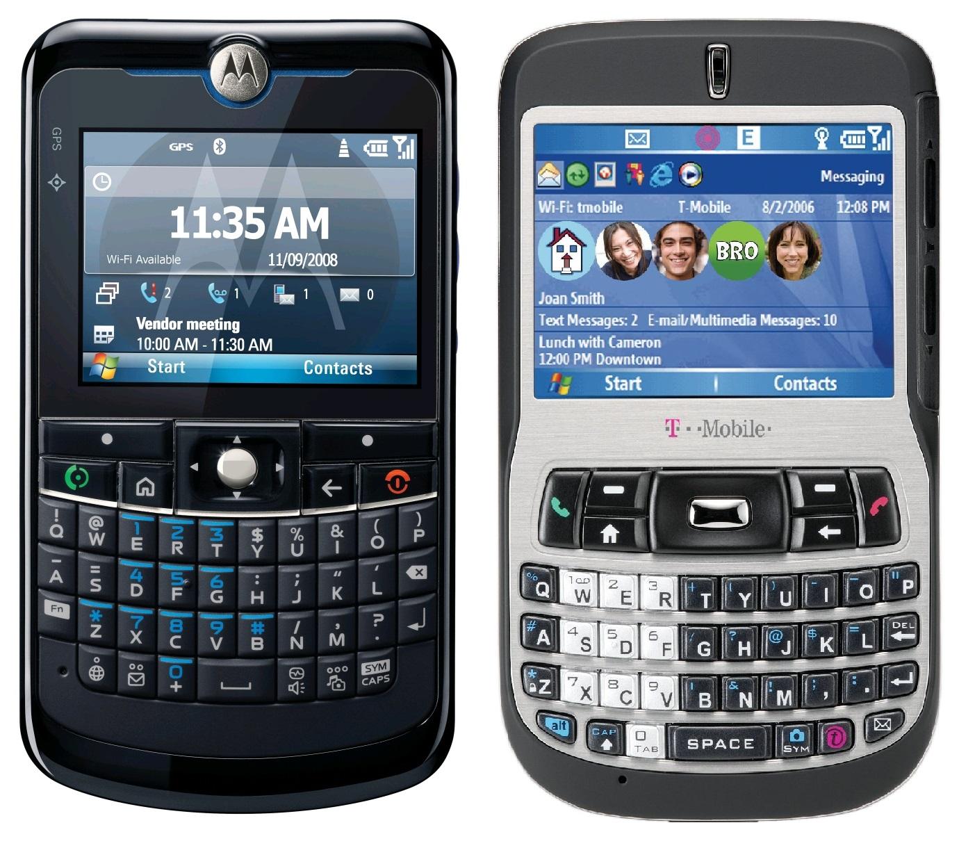 Motorola Q & HTC S620