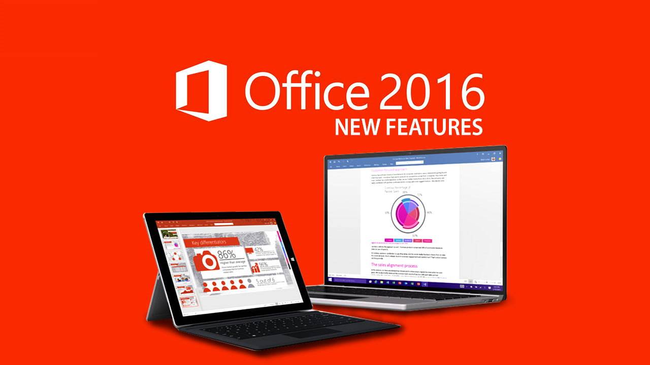 New Features Office 2016