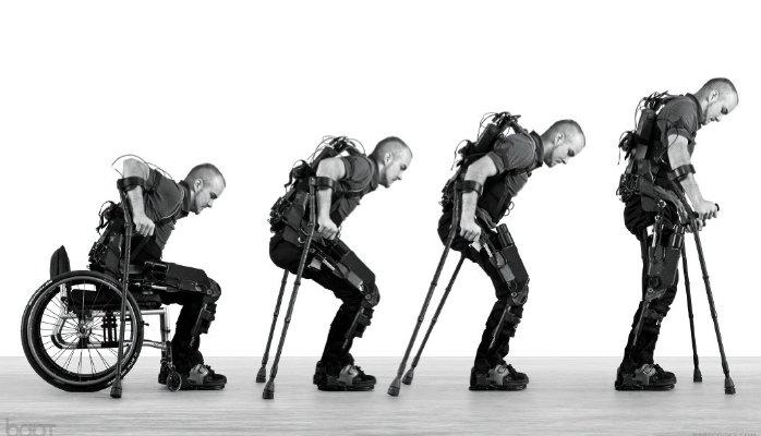 Exoesqueletos medicina