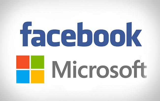 Resultado de imagen para facebook y microsoft