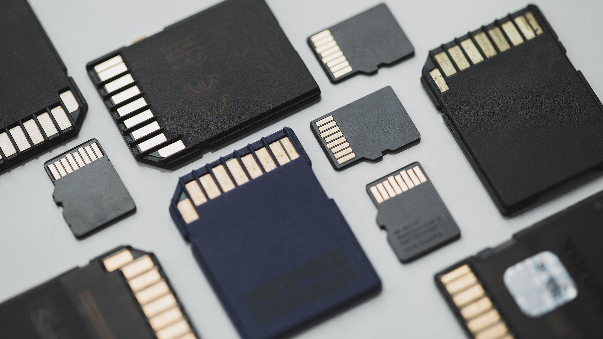 tarjetas de memoria imagenes
